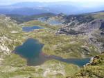 Долно езеро, Рибно езеро, Трилистник, Близнак
